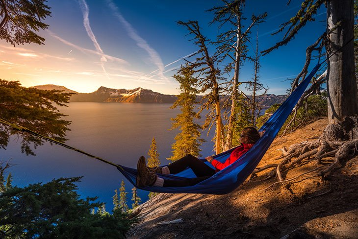 Hammock Has Benefits That Tents Have