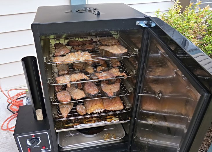 how to smoke ham steaks in an electric smoker