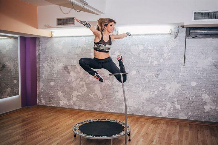 best mini trampoline rebounder